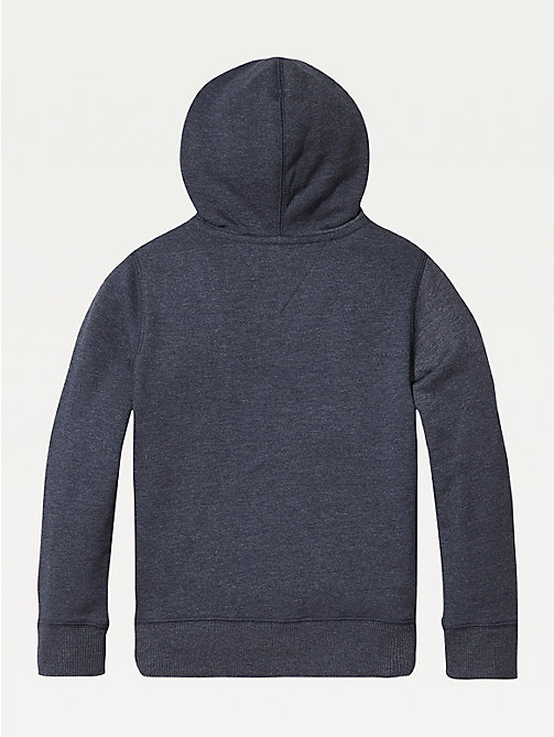 TOMMY HILFIGER Everyday Zip-Thru Hoody - SKY CAPTAIN - TOMMY HILFIGER Sweatshirts & Hoodies - detail image 1