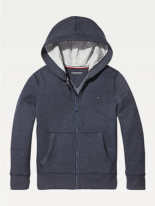 TOMMY HILFIGER Everyday Zip-Thru Hoody - SKY CAPTAIN - TOMMY HILFIGER Sweatshirts & Hoodies - main image