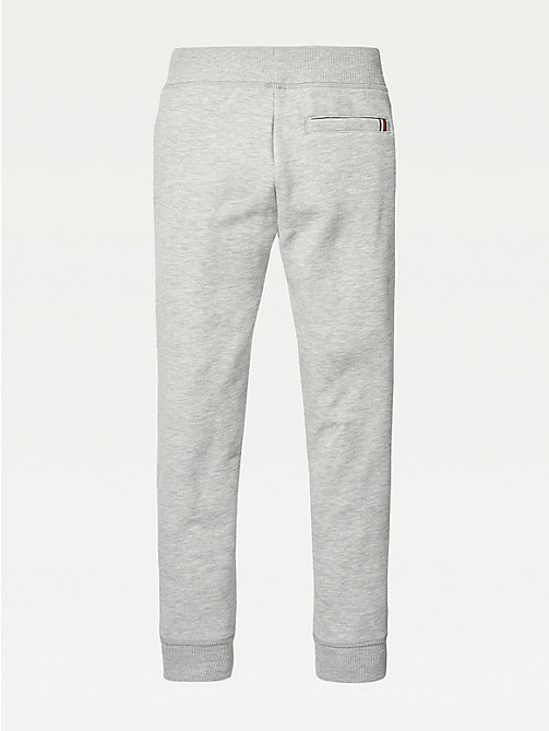 TOMMY HILFIGER Everyday Jogging Bottoms - GREY HEATHER - TOMMY HILFIGER Trousers & Shorts - detail image 1