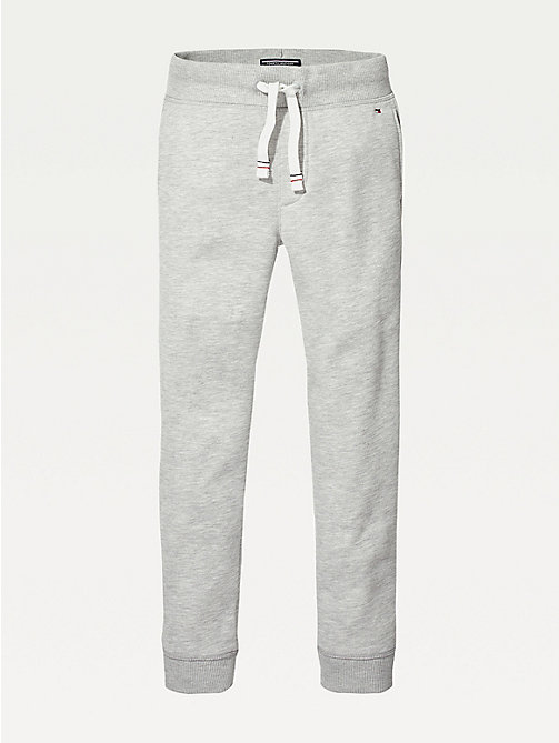 TOMMY HILFIGER Everyday Jogging Bottoms - GREY HEATHER - TOMMY HILFIGER Trousers & Shorts - main image