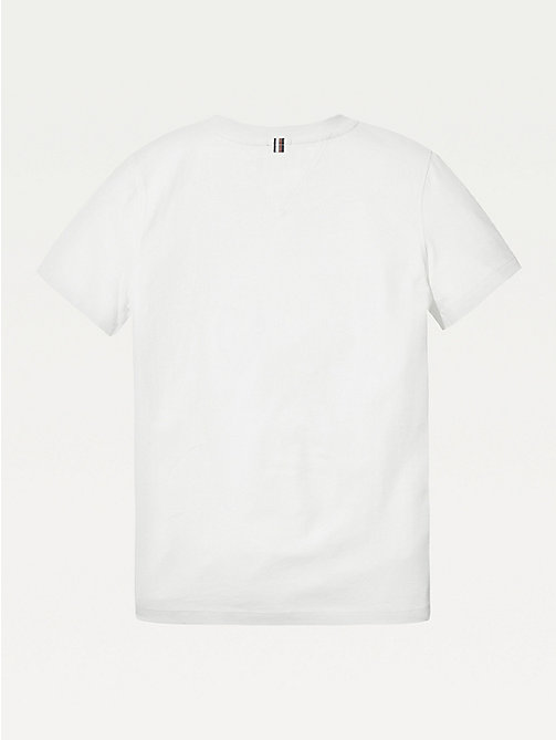 TOMMY HILFIGER Essential Organic Cotton T-Shirt - BRIGHT WHITE - TOMMY HILFIGER Tops & T-shirts - detail image 1