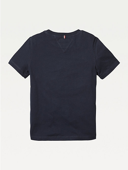 TOMMY HILFIGER Essential Organic Cotton T-Shirt - SKY CAPTAIN - TOMMY HILFIGER Tops & T-shirts - detail image 1