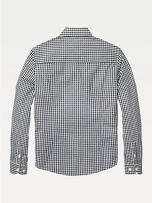 TOMMY HILFIGER Long Sleeve Gingham Shirt - SKY CAPTAIN - TOMMY HILFIGER Shirts - detail image 1