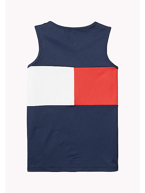 TOMMY HILFIGER SPORTS SINGLET - SKY CAPTAIN / MULTI - TOMMY HILFIGER Sports Capsule - detail image 1