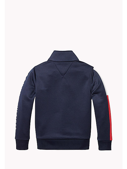 TOMMY HILFIGER SPORTS TRACK JACKET - SKY CAPTAIN - TOMMY HILFIGER Sports Capsule - detail image 1