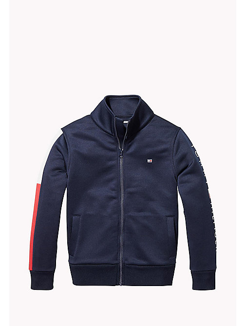 TOMMY HILFIGER SPORTS TRACK JACKET - SKY CAPTAIN - TOMMY HILFIGER Coats & Jackets - main image