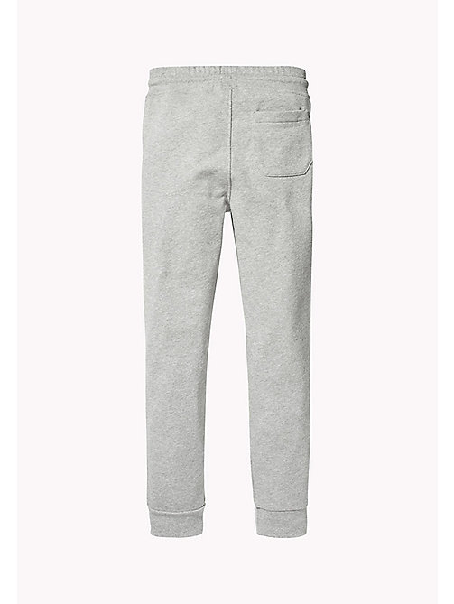 TOMMY HILFIGER SPORTS TOMMY SWEATPANTS - LIGHT GREY HTR - TOMMY HILFIGER Trousers & Shorts - detail image 1