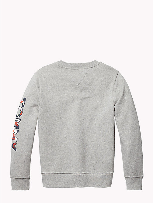 TOMMY HILFIGER SPORTS TOMMY SWEATSHIRT - LIGHT GREY HTR - TOMMY HILFIGER Sports Capsule - image détaillée 1