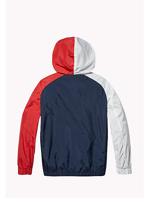 TOMMY HILFIGER SPORTS COLORBLOCK JACKET - SKY CAPTAIN / MULTI - TOMMY HILFIGER Sports Capsule - detail image 1