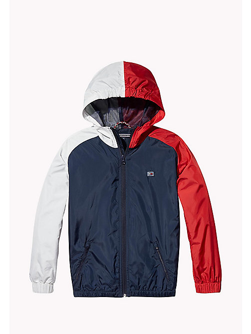 TOMMY HILFIGER SPORTS COLORBLOCK JACKET - SKY CAPTAIN / MULTI - TOMMY HILFIGER Coats & Jackets - main image