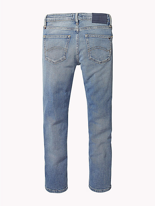 TOMMY HILFIGER Monogram Relaxed Fit Jeans - DURHAM NEW BLUE STRETCH - TOMMY HILFIGER Jeans - detail image 1