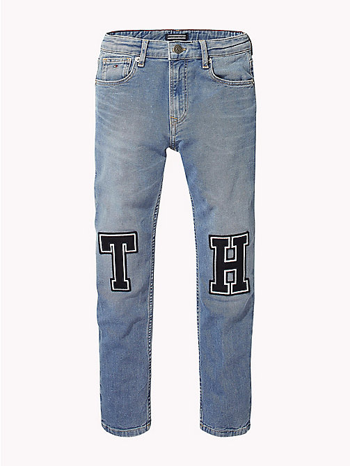 TOMMY HILFIGER Relaxed fit jeans met monogram - DURHAM NEW BLUE STRETCH - TOMMY HILFIGER Jongens - main image