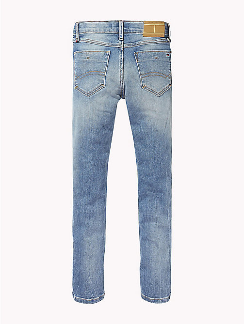 TOMMY HILFIGER Distressed Slim Fit Jeans - AUTHENTIC SALT LAKE STRETCH - TOMMY HILFIGER Jeans - detail image 1