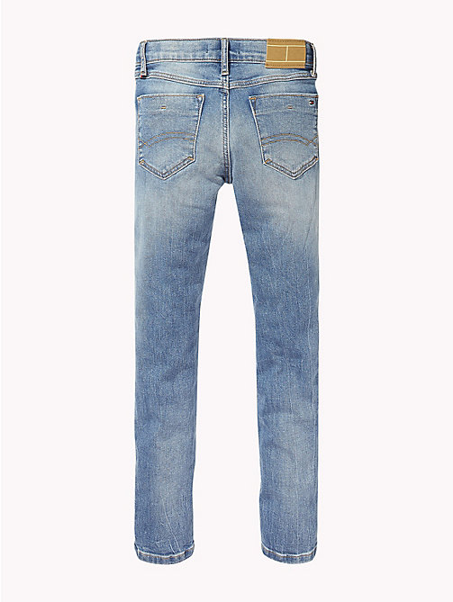 TOMMY HILFIGER Slim fit jeans met distressing - AUTHENTIC SALT LAKE STRETCH - TOMMY HILFIGER Jongens - detail image 1