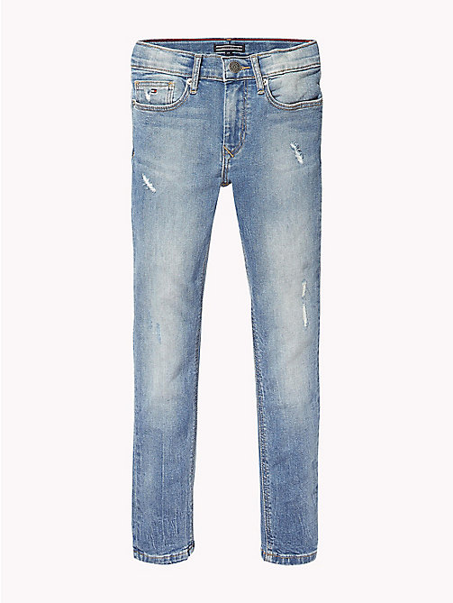 TOMMY HILFIGER Distressed Slim Fit Jeans - AUTHENTIC SALT LAKE STRETCH - TOMMY HILFIGER Jeans - main image