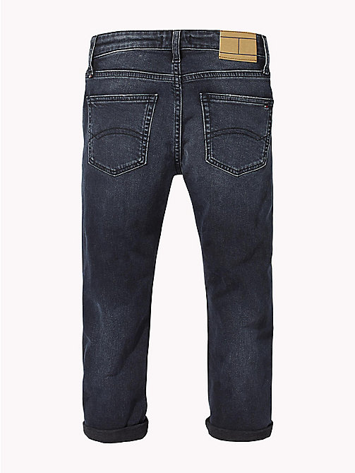 TOMMY HILFIGER Distressed Relaxed Fit Jeans - MOORE BLUE BLACK STRETCH - TOMMY HILFIGER Jeans - detail image 1