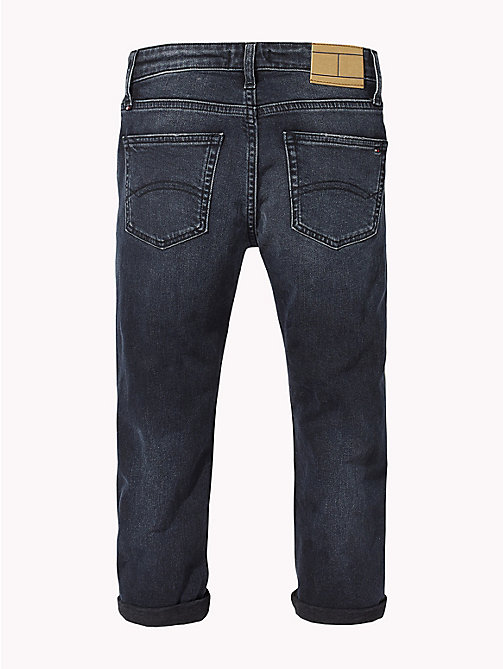 TOMMY HILFIGER Distressed Relaxed Fit Jeans - MOORE BLUE BLACK STRETCH - TOMMY HILFIGER Boys - detail image 1