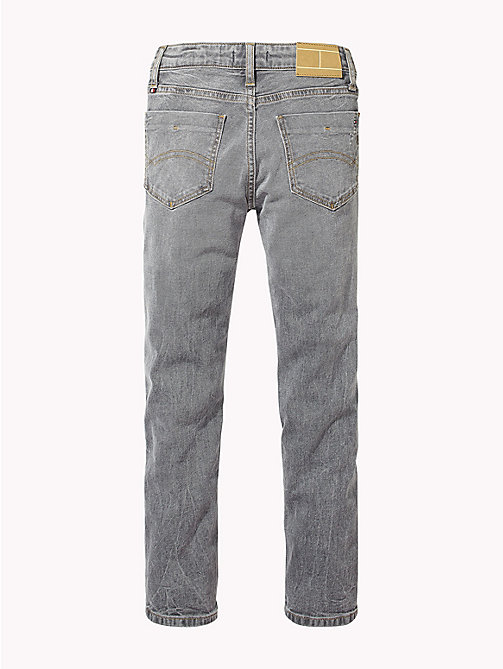 TOMMY HILFIGER Faded Slim Fit Jeans - RALEIGH GREY BLUE STRETCH - TOMMY HILFIGER Boys - detail image 1