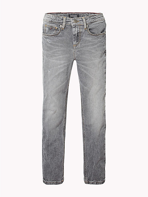 TOMMY HILFIGER Faded slim fit jeans - RALEIGH GREY BLUE STRETCH - TOMMY HILFIGER Jongens - main image