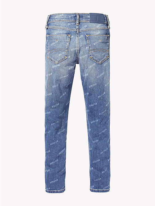 TOMMY HILFIGER Jeans con logo Tommy Hilfiger - CAMDEN MID BLUE STRETCH - TOMMY HILFIGER Jeans - dettaglio immagine 1