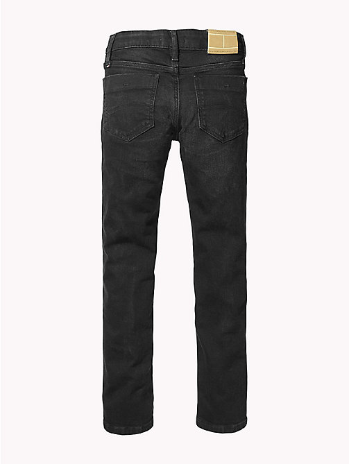 TOMMY HILFIGER Scanton slim fit jeans - SPRING BLACK STRETCH - TOMMY HILFIGER Jongens - detail image 1