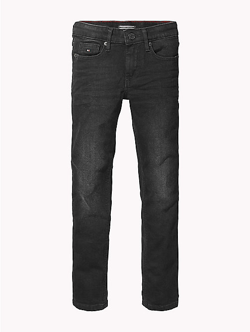 TOMMY HILFIGER Scanton Slim Fit Jeans - SPRING BLACK STRETCH - TOMMY HILFIGER Jeans - main image