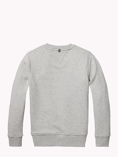 TOMMY HILFIGER Essentials Flag Sweatshirt - GREY HEATHER - TOMMY HILFIGER Sweatshirts & Hoodies - detail image 1