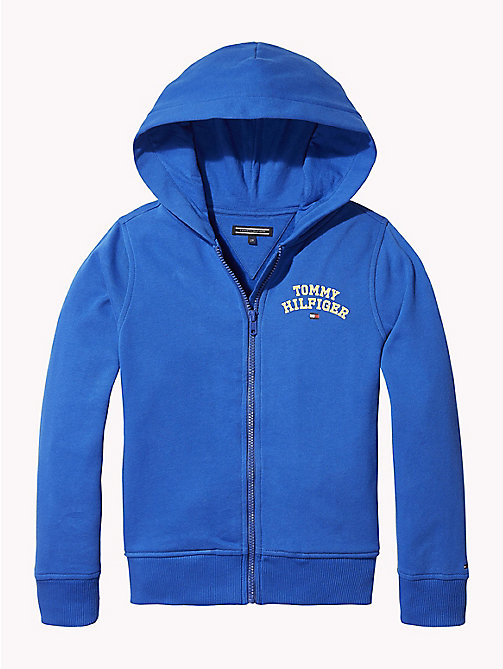TOMMY HILFIGER Essentials Zip Hoody - OLYMPIAN BLUE - TOMMY HILFIGER Sweatshirts & Hoodies - main image