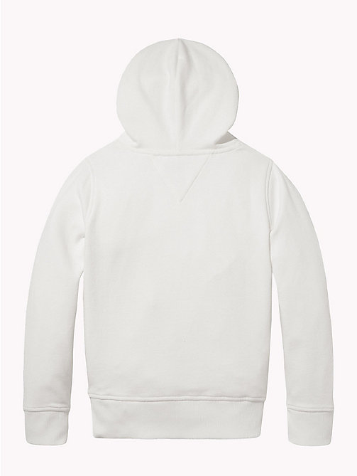 TOMMY HILFIGER Essentials Logo Hoody - BRIGHT WHITE - TOMMY HILFIGER Sweatshirts & Hoodies - detail image 1