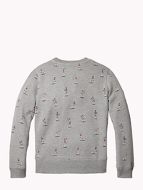 TOMMY HILFIGER Sweat logo - GREY HEATHER - TOMMY HILFIGER Garçons - image détaillée 1