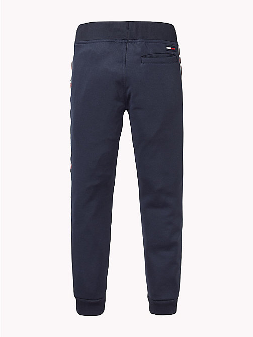 TOMMY HILFIGER Flag Tape Joggers - BLACK IRIS - TOMMY HILFIGER Trousers & Shorts - detail image 1