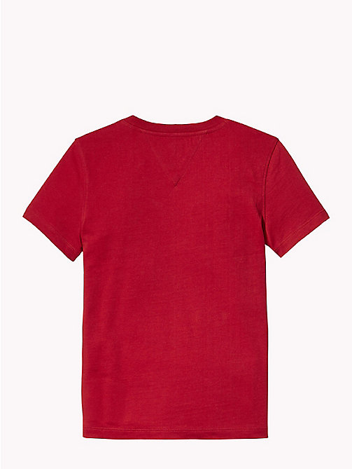 TOMMY HILFIGER Monogram T-Shirt - APPLE RED - TOMMY HILFIGER T-shirts & Polos - detail image 1