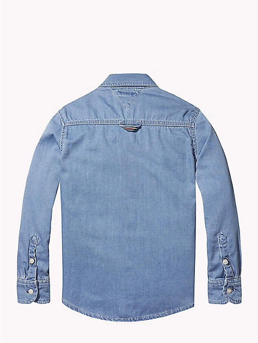 TOMMY HILFIGER Signature denim overhemd - REDDING LIGHT - TOMMY HILFIGER Jongens - detail image 1