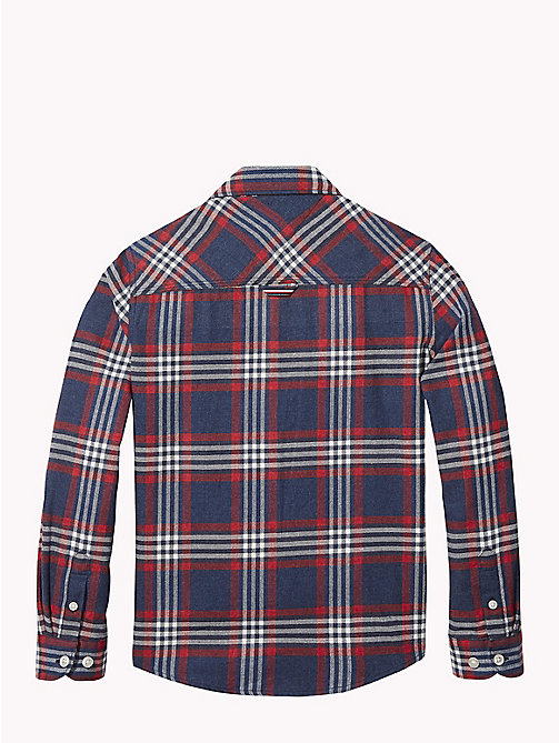 TOMMY HILFIGER Multi-Colour Check Shirt - BLACK IRIS / MULTI - TOMMY HILFIGER Shirts - detail image 1
