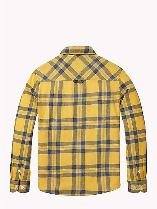 TOMMY HILFIGER Multi-Colour Check Shirt - SPECTRA YELLOW / MULTI - TOMMY HILFIGER Boys - detail image 1