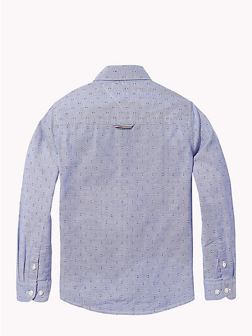 TOMMY HILFIGER Print Oxford Shirt - OLYMPIAN BLUE/MULTI - TOMMY HILFIGER Shirts - detail image 1
