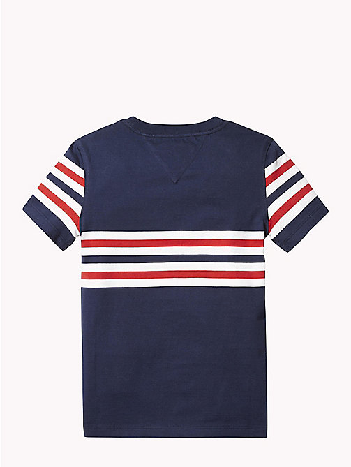 TOMMY HILFIGER Gestreept T-shirt - BLACK IRIS - TOMMY HILFIGER T-shirts & Polo's - detail image 1