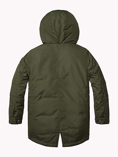 TOMMY HILFIGER 2-in-1 Hooded Parka - FOREST NIGHT - TOMMY HILFIGER Coats & Jackets - detail image 1