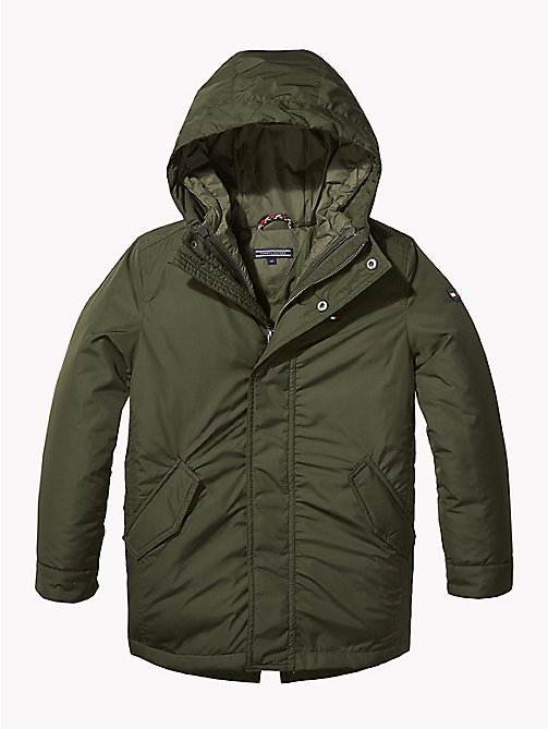 TOMMY HILFIGER 2-in-1 Hooded Parka - FOREST NIGHT - TOMMY HILFIGER Coats & Jackets - main image