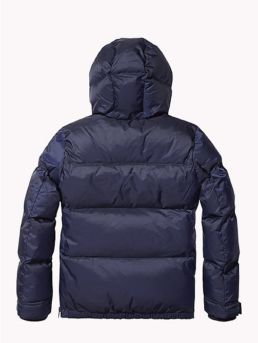 TOMMY HILFIGER Padded Ripstop Jacket - BLACK IRIS - TOMMY HILFIGER Boys - detail image 1