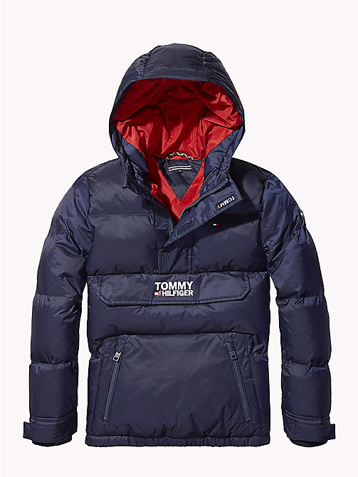 TOMMY HILFIGER Padded Ripstop Jacket - BLACK IRIS - TOMMY HILFIGER Coats & Jackets - main image