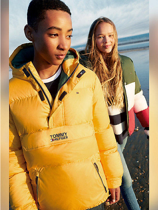 TOMMY HILFIGER Padded Ripstop Jacket - SPECTRA YELLOW - TOMMY HILFIGER Boys - main image