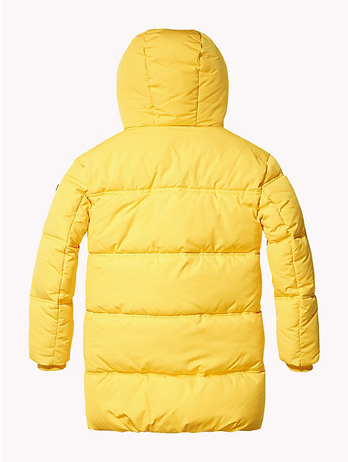 TOMMY HILFIGER Oversized Puffer Parka - SPECTRA YELLOW - TOMMY HILFIGER Boys - detail image 1