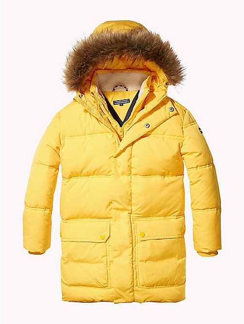 TOMMY HILFIGER Oversized Puffer Parka - SPECTRA YELLOW - TOMMY HILFIGER Coats & Jackets - main image
