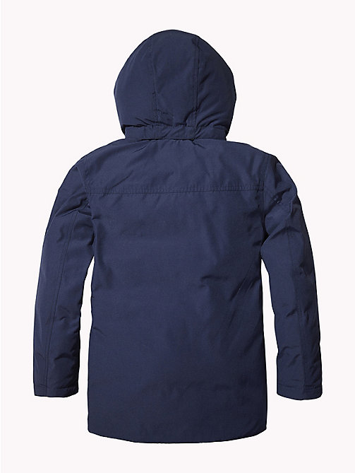 TOMMY HILFIGER Padded Hooded Parka - BLACK IRIS - TOMMY HILFIGER Boys - detail image 1