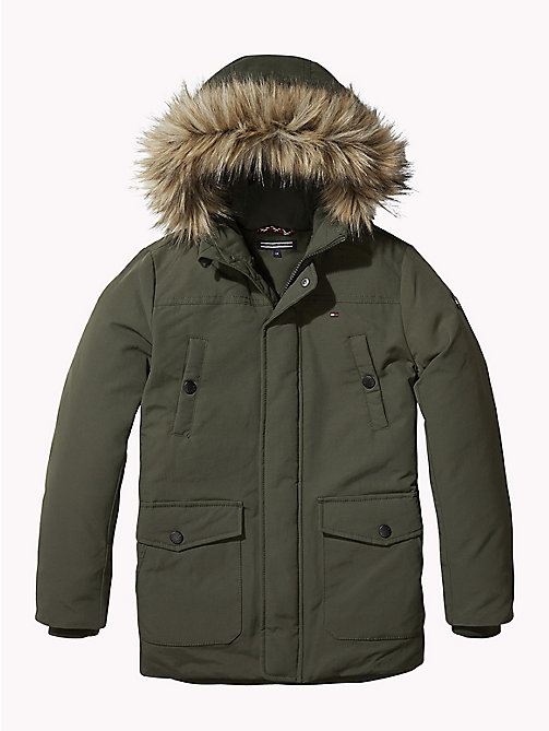 TOMMY HILFIGER Detachable Trim Arctic Parka - FOREST NIGHT - TOMMY HILFIGER Coats & Jackets - main image