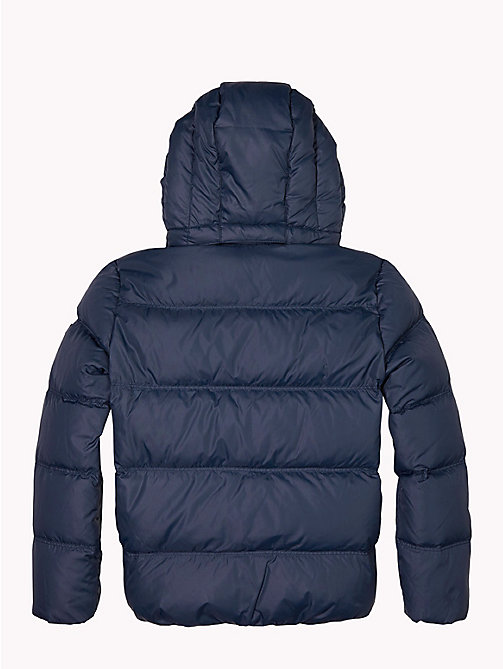 TOMMY HILFIGER Recycled Material Padded Down Jacket - BLACK IRIS - TOMMY HILFIGER Boys - detail image 1