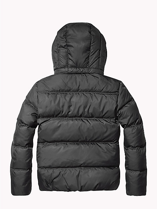 TOMMY HILFIGER Recycled Material Padded Down Jacket - TOMMY BLACK - TOMMY HILFIGER Coats & Jackets - detail image 1