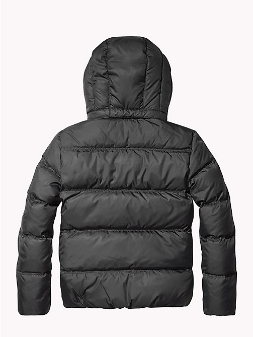 TOMMY HILFIGER Recycled Material Padded Down Jacket - TOMMY BLACK - TOMMY HILFIGER Boys - detail image 1