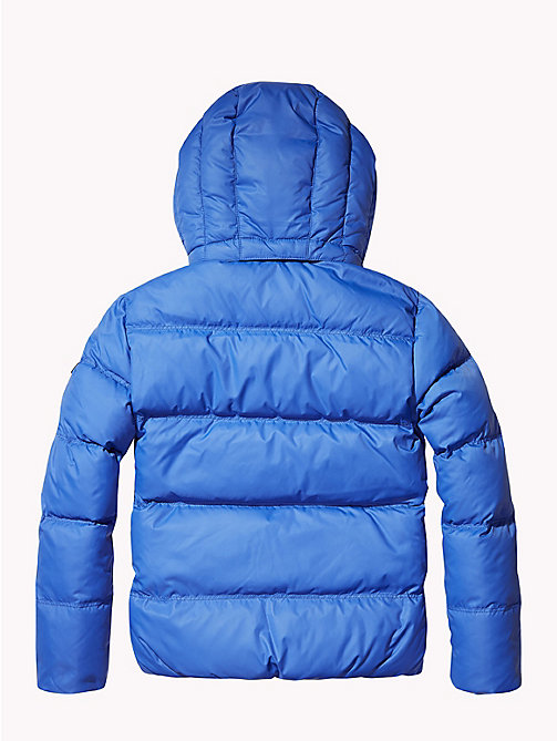 TOMMY HILFIGER Recycled Material Padded Down Jacket - OLYMPIAN BLUE - TOMMY HILFIGER Boys - detail image 1